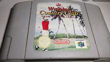 jeu nintendo 64  Waiale country club