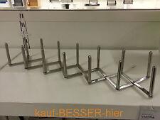 IKEA VARIERA Edelstahl Teller Deckelhalter Geschirrständer Sparerib Halter Grill