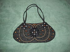 Cool Black Decorative Purse Handbag M-25