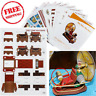 DIY Paper Model Kit The Time Machine Handcraft 3D Toy Gift Manual Book Hobby