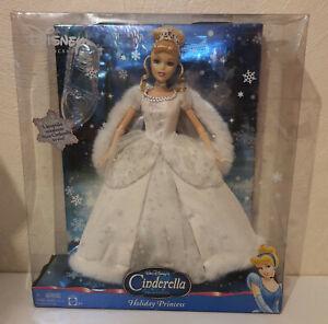 2004 Cinderella Holiday Princess Mattel Glasschuh aus USA NRFB