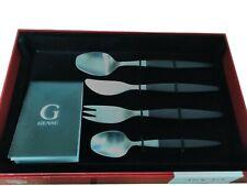 Gense 7741074 Folke Arström Focus De Luxe 4 Pieces Children's Cutlery Set in Box