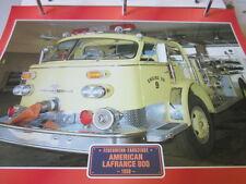 Super Trucks Feuerwehr USA American Lafrance 800, 1958