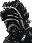 Twin Dual Feed Oil Line Steel Braided For Yamaha XT500 TT500 SR FLAT TRACK 1-062