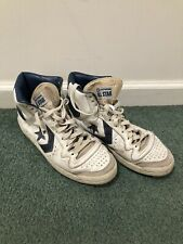 Vintage 80s Converse All Star Hitop Basketball Shoes Sneakers Size 9 Made In USA