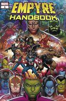 Empyre Handbook Comic 1 Cover A Ron Lim First Print 2020 Mike O'Sullivan Marvel