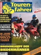 TF0101 + HONDA NT 650 V Deauville vs. XL 650 V Transalp + Tourenfahrer 1/2001
