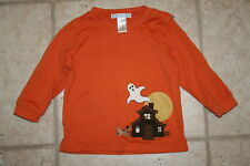Janie and Jack Boys 6 - 12 months Halloween Ghost Shirt