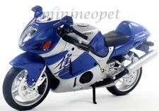 MAISTO 31103 SUZUKI GSX 1300R HAYABUSA BIKE 1/12 BLUE