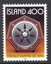 Iceland- 1980 50 years national radio Mi. 562 MNH