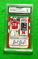 DARRION DANIELS ROOKIE CARD GRADED MINT 9 GMA 49ERS RC 2020 PANINI CONTENDERS DP