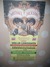 Michael Jackson Ticket Eintrittskarte 30.08.1992 Dangerous World Tour 1992 RAR