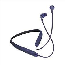 SOL REPUBLIC SHADOW FUSION SOL-EP1200BL Blue Neckband Type Wireless Earphone New