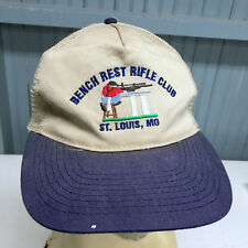 Bench Rest Rifle Club St. Louis Beat Up Old Snapback Baseball Cap Hat