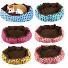 Cute Pet Dog Puppy Cat Soft Flannel Warm Bed House Plush Cozy Nest Mat Pad Hot