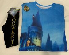 Universal Studios Harry Potter T-Shirt, Hogwarts Socks, and Key Chain