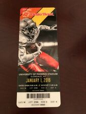 Fiesta Bowl Full Ticket 1/1/2016 Notre Dame vs. Ohio State