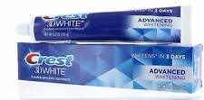 CREST 3D WHITE ADVANCED WHITENING FLUORIDE ANTY CAVITIY TOOTHPASTE  6.0 OZ