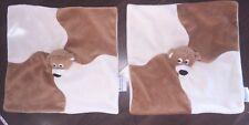 1Stück- Asklepios Teddybär Hund Schmusetuch Kuscheltuch Braun Beige Schwarz Bear