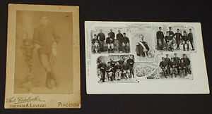 W.W.I. MILITARY /WAR MILANO /PIACENZA /ITALIA - PHOTO + POSTCARD (2) - ORIGINAL