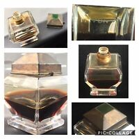 RARE 1928 Art Deco Myon 1000 Joys' Ginger Jar French Baccarat Perfume Bottle