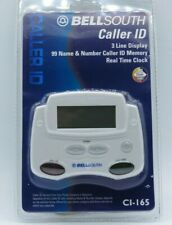 Bell South Caller Id CI-165 3 Line Display 125 Memory New Call LED New in box