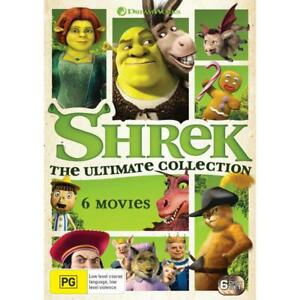 Shrek: Ultimate Collection DVD | 6 Discs | Region 4