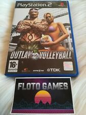 Jeu Outlaw Volleyball pour Sony Playstation 2 PS2 Complet CIB - Floto Games