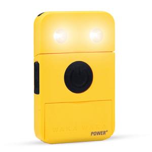 WakaWaka Power PLUS (Yellow)  SOLAR-POWERED CHARGER + LIGHT