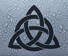 Celtic 'Trinity' knot 2 - vinyl car bike window decal bumper sticker - DEC1122