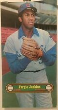 """1972 TOPPS   BASEBALL POSTER   #  10  Ferguson JENKINS  Chicago Cubs   10"""" X 18"""""""