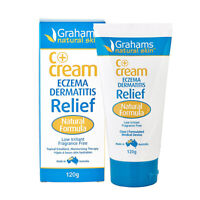 Grahams Natural C+ Cream (Eczema & Dermatitis Relief) 120g Topical Applications