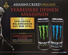 5x Assassin's Creed Origins Loot Code Key Monster Energy PC PS4 Xbox One