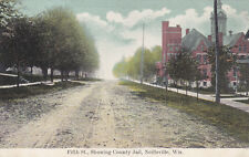 NEILLSVILLE, Wisconsin, 1900-1910's; Fifth St., Showing County Jail