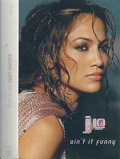 JENNIFER LOPEZ AIN'T IT FUNNY  CASSETTE  maxi-single J-LO RnB/Swing, House Latin