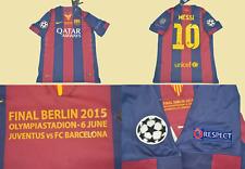 Fc barcelona jersey home 2014 2015 champions league final messi shirt playera