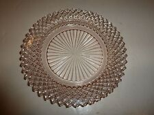 Vintage Hocking Miss America Pink Depression Glass Bread Plate-5-5/8""