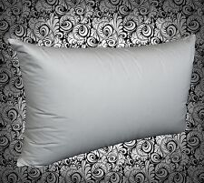 King Size 100% German Duck Feather Pillow - Firm Support - Made in Australia