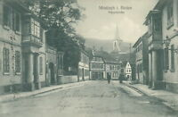 Ansichtskarte Mosbach i. Baden Hauptstraße 1911 (Nr.9189)