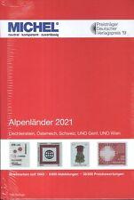 Michel Europa Band 1 2021 Alpenländer II. Wahl inlandsportofrei!!
