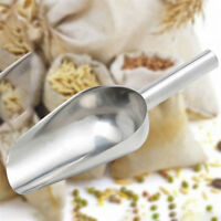 "8"" Stainless Steel Ice Pet Sweet Food Wedding Party Buffet Bar Flour Candy Scoop"