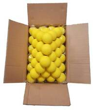 Velocity Case Of 120 Yellow Lacrosse Balls Nocsae Certified
