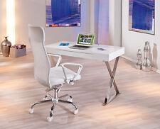Schreibtisch weiß hochglanz Computertisch PC-Tisch Computerschreibtisch modern
