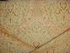 2-7/8 Kravet Couture 19813 Palais Washed French Damask Apricot Upholstery Fabric