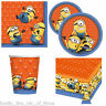 Despicable Me Minions Boys Girls Children Kids Birthday Party Tableware