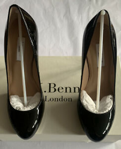 LK Bennett Leather Patent Sledge Court Shoes Odd Sizes UK 2 35 BNWT RRP £195 99p