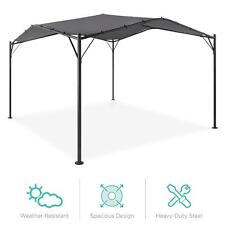 12 X 12 Feet Gazebo Canopy With Weighted Bags Outdoor Party Tent Sunshade Multi
