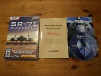 SR-71 BLACKBIRD PC DVD-ROM V.G.C. FAST POST ( add-on for flight simulator 2004 )