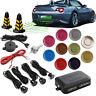 Sensor Radar Car Reverse Buzzer Backup Rear  System Alarm + 4 Parking Sensor