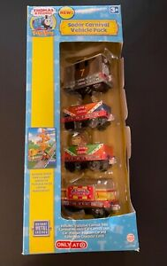 SODOR CARNIVAL VEHICLE PACK Take Along Thomas Friends Learning Curve NEW Sealed
